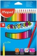"Цветные карандаши 18 шт ""COLOR PEPS"" Maped"